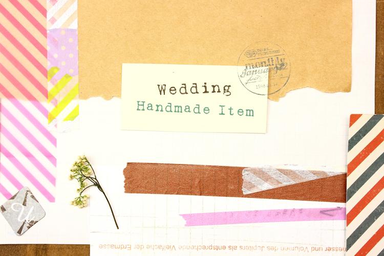 結婚式手作りアイテム作成準備リスト