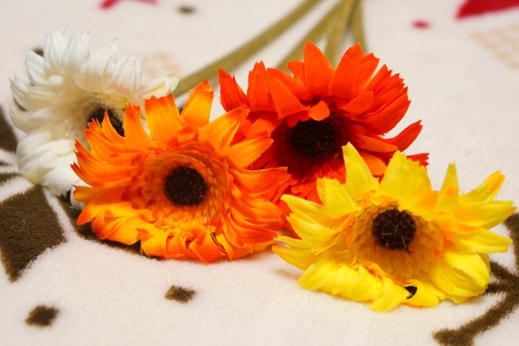 造花アレンジ用にIKEAで造花を購入